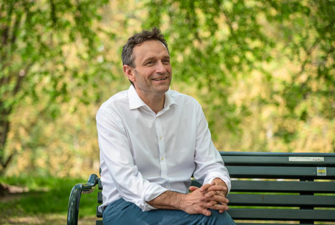 Fungerende MDG-leder Arild Hermstad gikk inn i politikken fordi han er utålmodig.