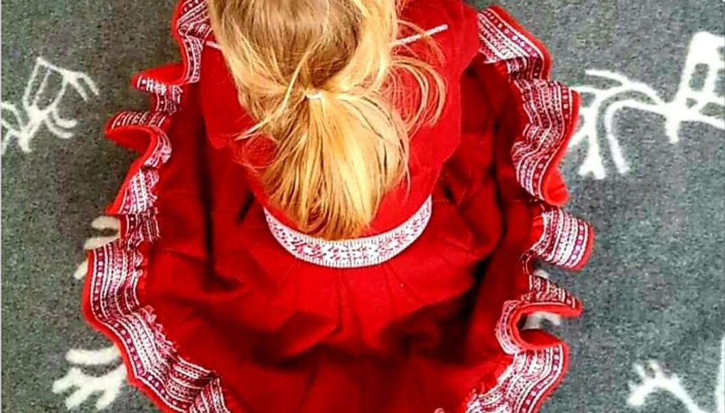 Barna er ikke bare samer, med de er også unike individer. Det er den samiske barnehagen i Oslo opptatt av å formidle .