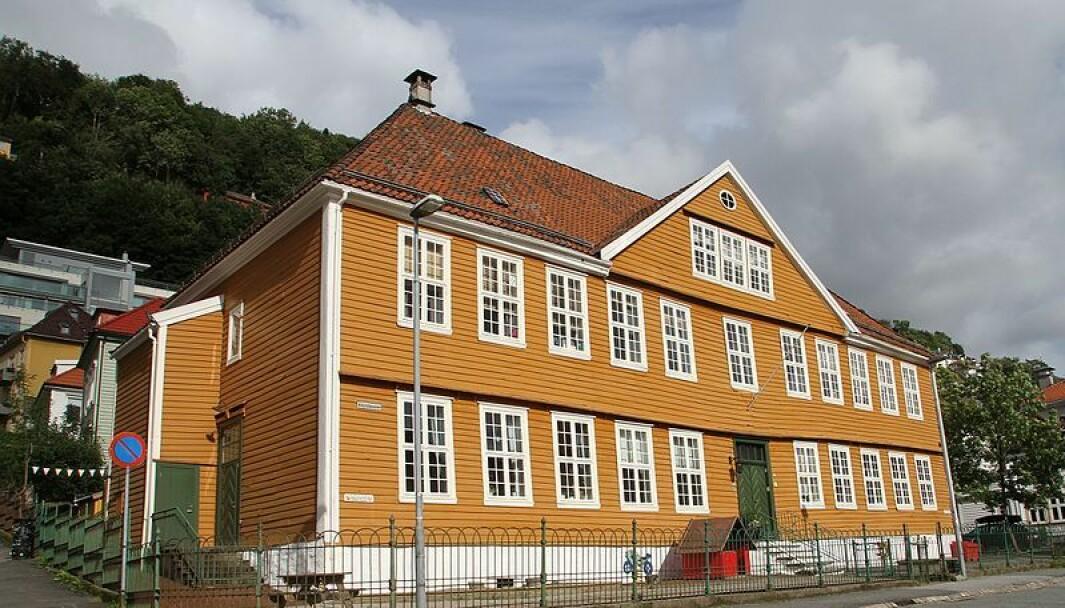 Bergens Barneasyl ble startet i 1841 og er ennå barnehage under samme navn. Her er bygget fra 2018.