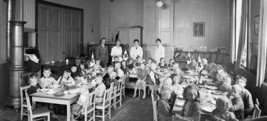 Her er starten på den norske barnehagen