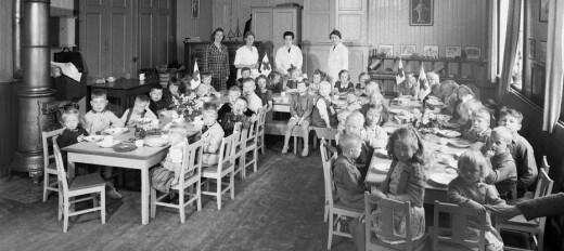 «100 barn på en voksen var ikke uvanlig.»