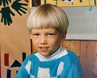 Ung og lovende Vedum, i første klasse på Breidablikk skole.