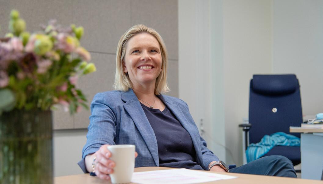 Frp-leder Sylvi Listhaug var glad i samfunnsfag da hun gikk på videregående.