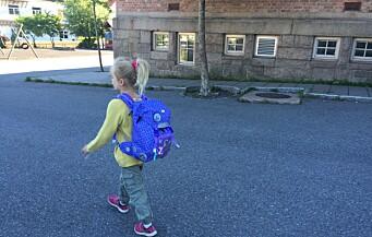 Foreldre reagerer etter brev med 46 regler til skolestart