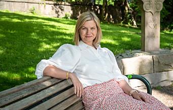 Venstreleder Guri Melby:Venstre går til valg på at alle elever skal ha rett på kvalifiserte lærere