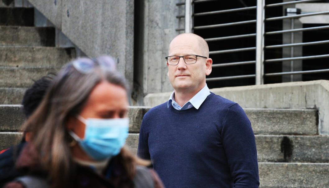 Leder for Utdanningsforbundet, Steffen Handal.