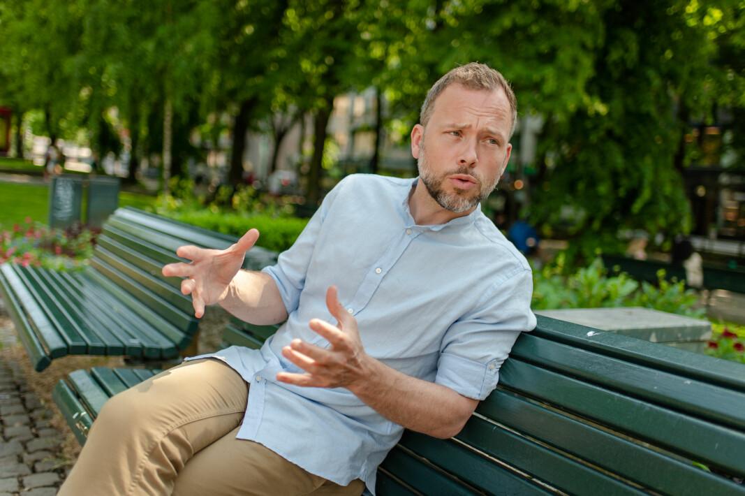 Audun Lysbakken er klar for regjeringsmakt. Han mener profittforbud i velferden bør bli god sosialdemokratisk politikk.