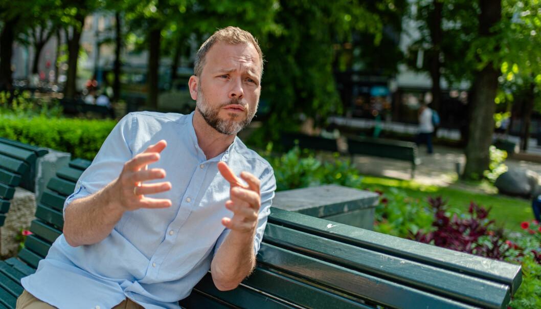 SV-leder Audun Lysbakken lover regjeringen støtte i flere av de utdanningspolitiske sakene.