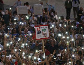 Italia gjør koronapass obligatorisk for lærere