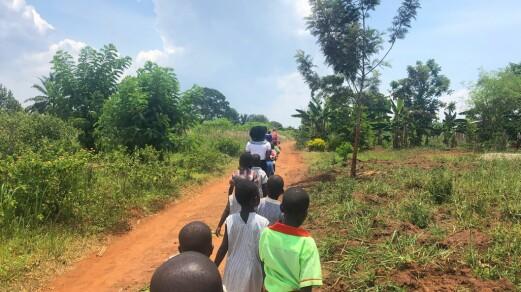 Dette lærte studentene da de besøkte barnehager i Uganda