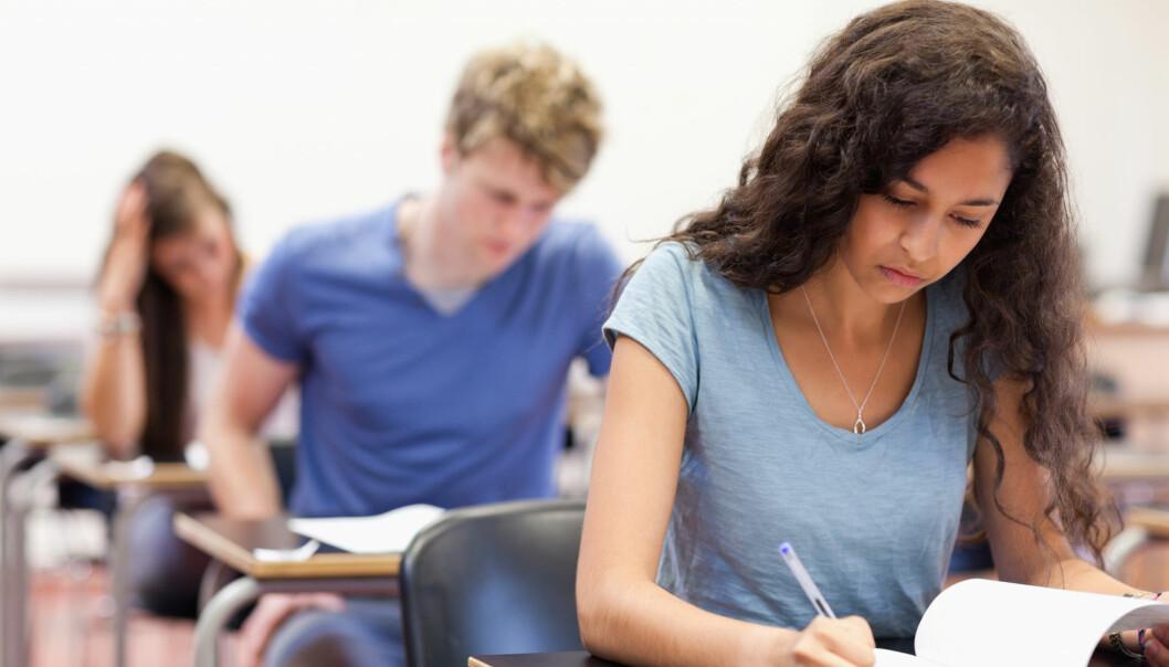 Fraværsgrensen har ført til at flere elever har møtt opp på skolen.