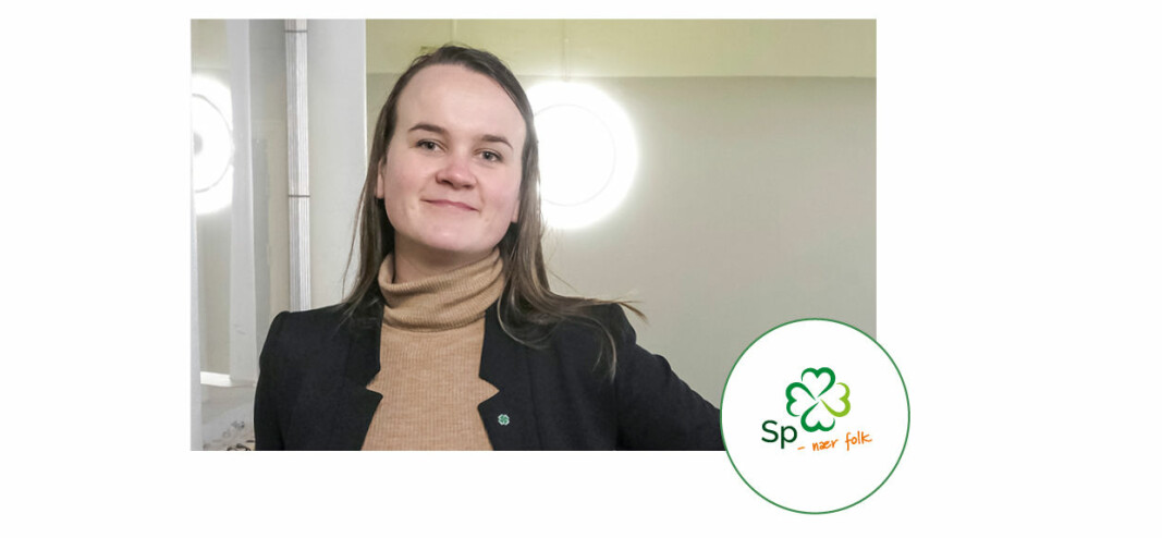Marit Knutsdatter Strand, Senterpartiet