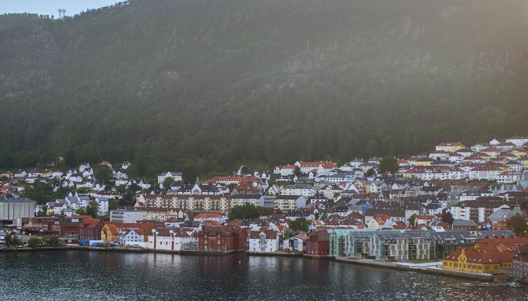 Mange studenter mangler fortsatt sted å bo like før studiestart. Bildet er fra Bergen.