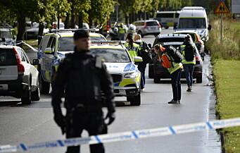 Skoleansatt skadd etter angrep i Sverige – 15-åring pågrepet