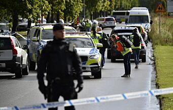 15-åring varetektsfengslet for drapsforsøk på lærer i Sverige