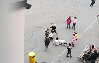 Røde Kors: Mange barn gruer seg til skolestart