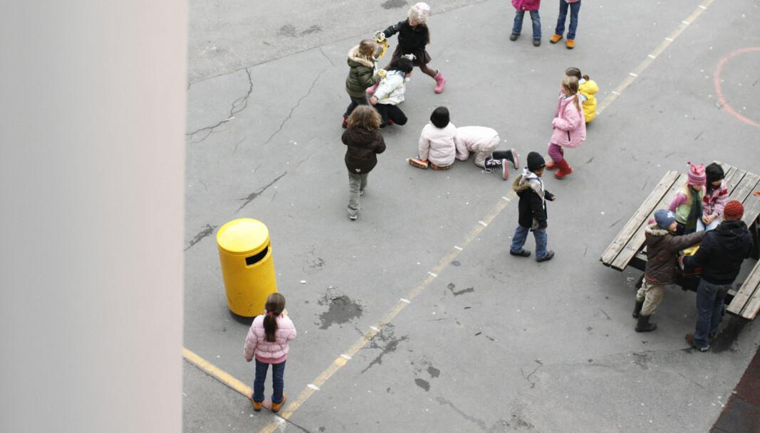 Ruselkka skole, skolegrd, friminutt, skolebygg, skole,