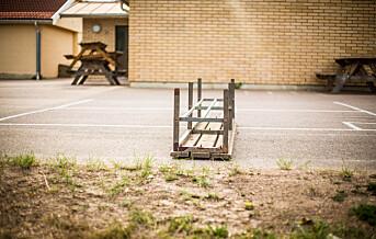 Færre skoler lagt ned siste skoleår