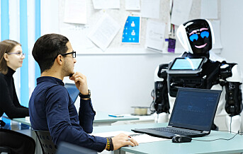 – Robotane kan godt ta over delar av lærarane sitt arbeid
