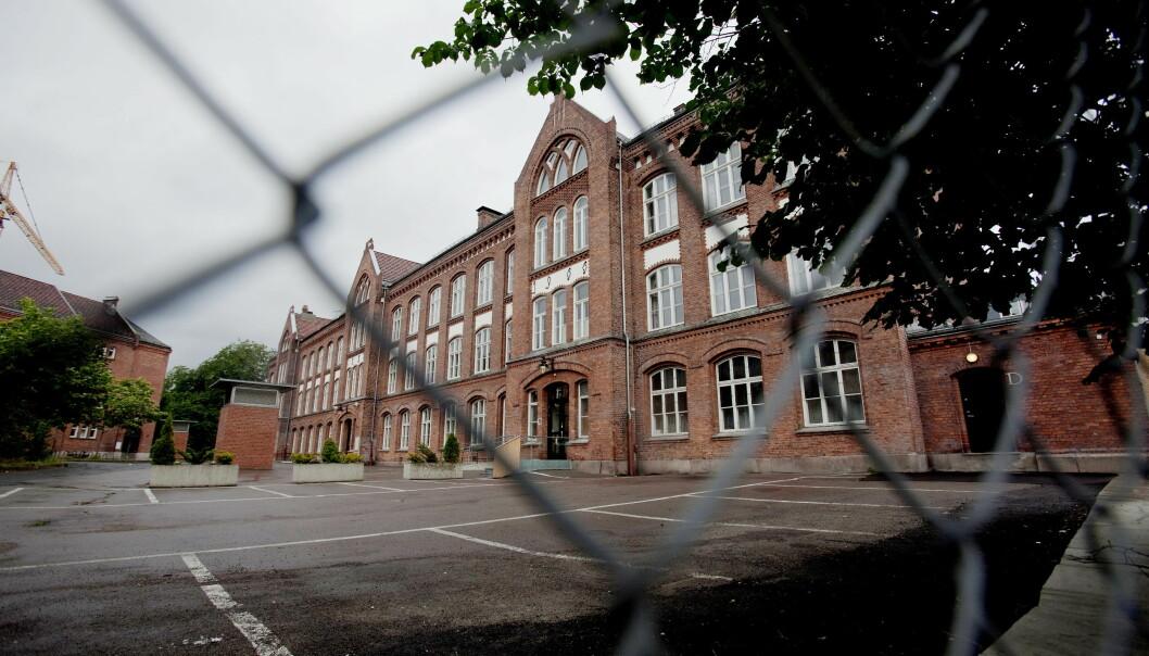 OSLO  20100719.Foss videregende skole i Oslo.Foto: Stian Lysberg Solum / NTB