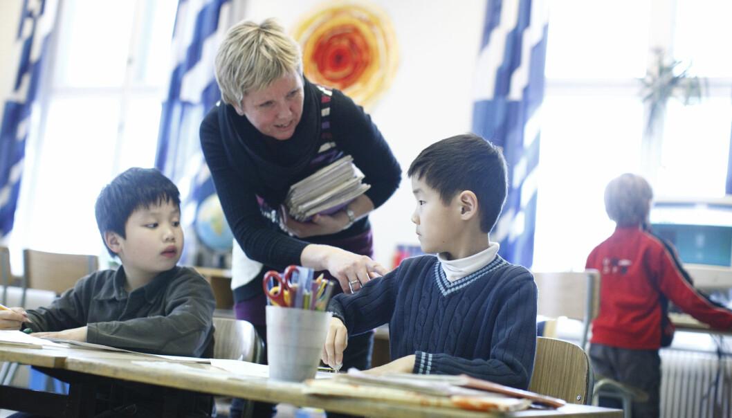 Lærernormen har gjort at lærertettheten har økt.