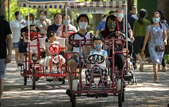 Kina forbyr skoleeksamener for seksåringer