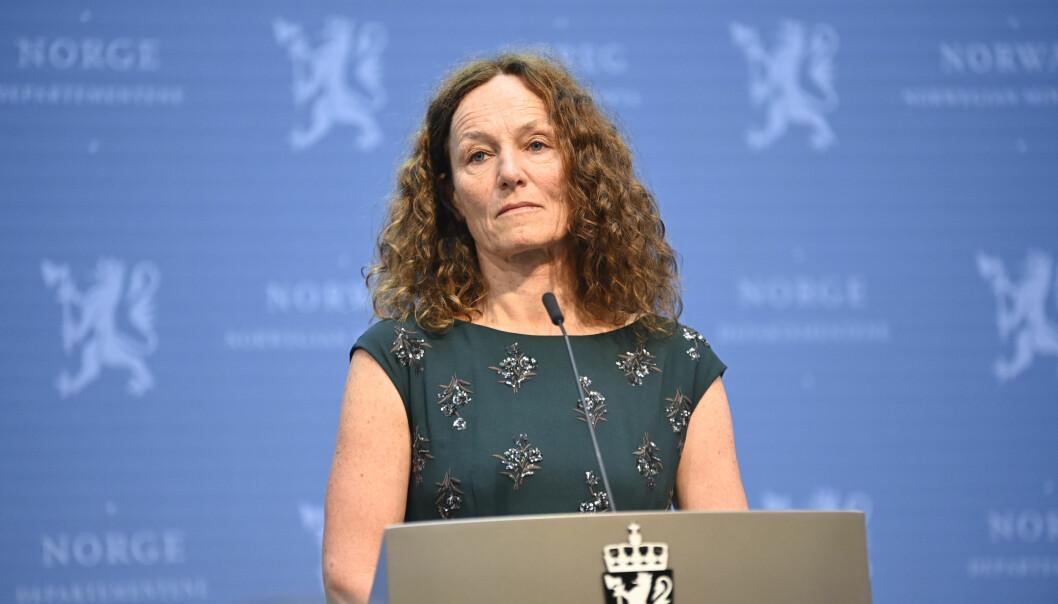 Direktør ved Folkehelseinstituttet, Camilla Stoltenberg, sier høstens smittestrategi ikke har fungert godt nok.