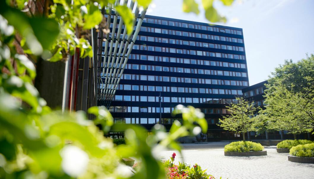 Eilert Sundts hus på Blindern i Oslo, som huser Samfunnsvitenskapelig fakultet ved Universitetet i Oslo (UiO)