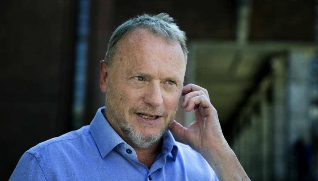 Byrådsleder Raymond Johansen vil ikke sette Oslo-skolen på gult nivå.