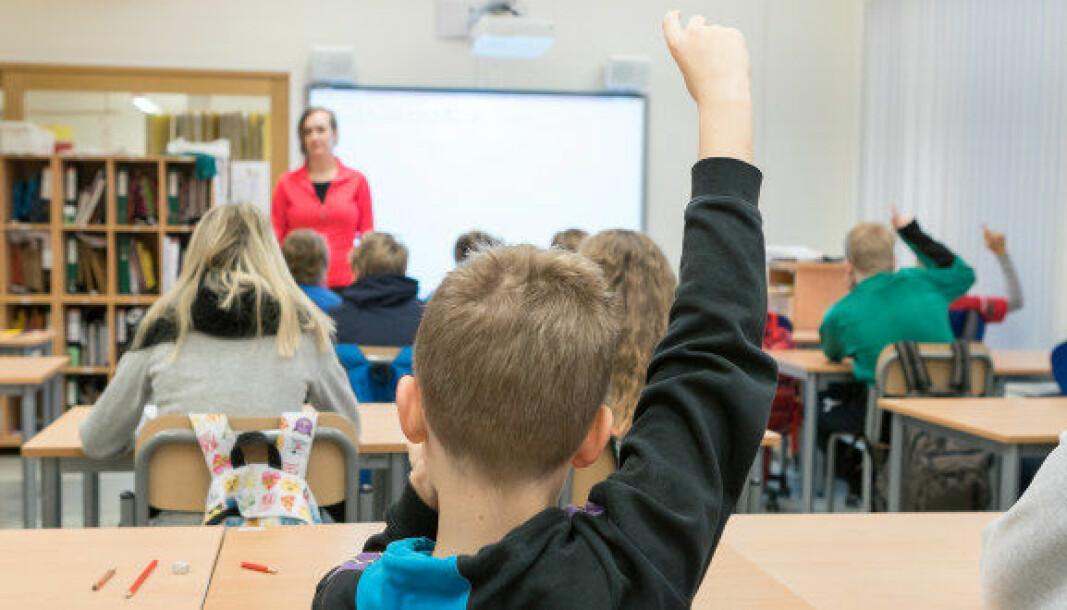 Nesten 20 prosent av lærerårsverkene i skolen blir utført av ufaglærte.