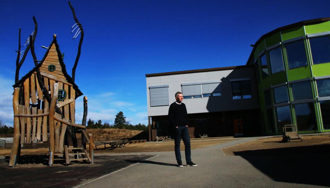Hans Jacob Sundby leder Læringsverkstedet, en av de fire største barnehagekjedene i Norge.