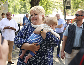 Solberg-løfte: Barn nummer tre skal få gratis barnehage