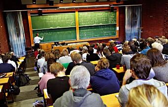 Utvalg skal evaluere finansieringen av høyere utdanning og forskning
