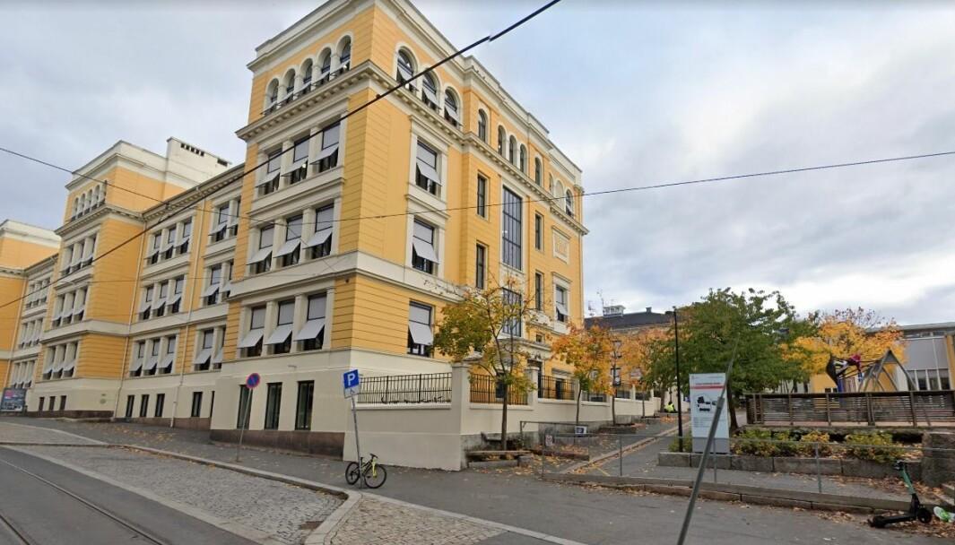Uranienborg skole.