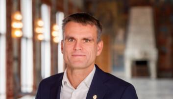 Finansbyråd Einar Willhelmsen fra MDG.