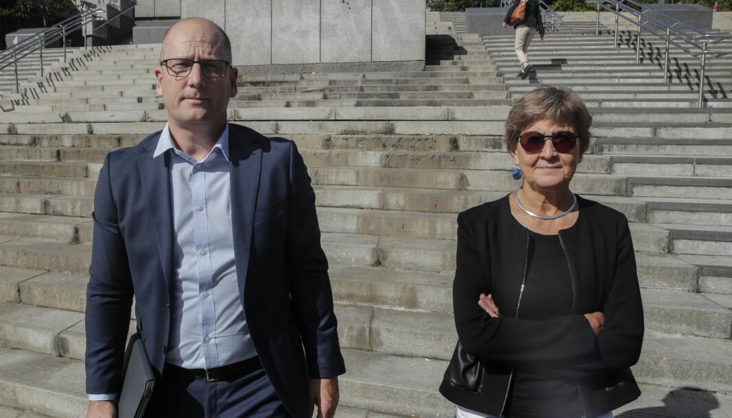Steffen Handal, leder i Utdanningsforbundet og Mette Nord, leder i Fagforbundet, mener PBL bygger stråmenn i debatten om Storberget-utvalget.