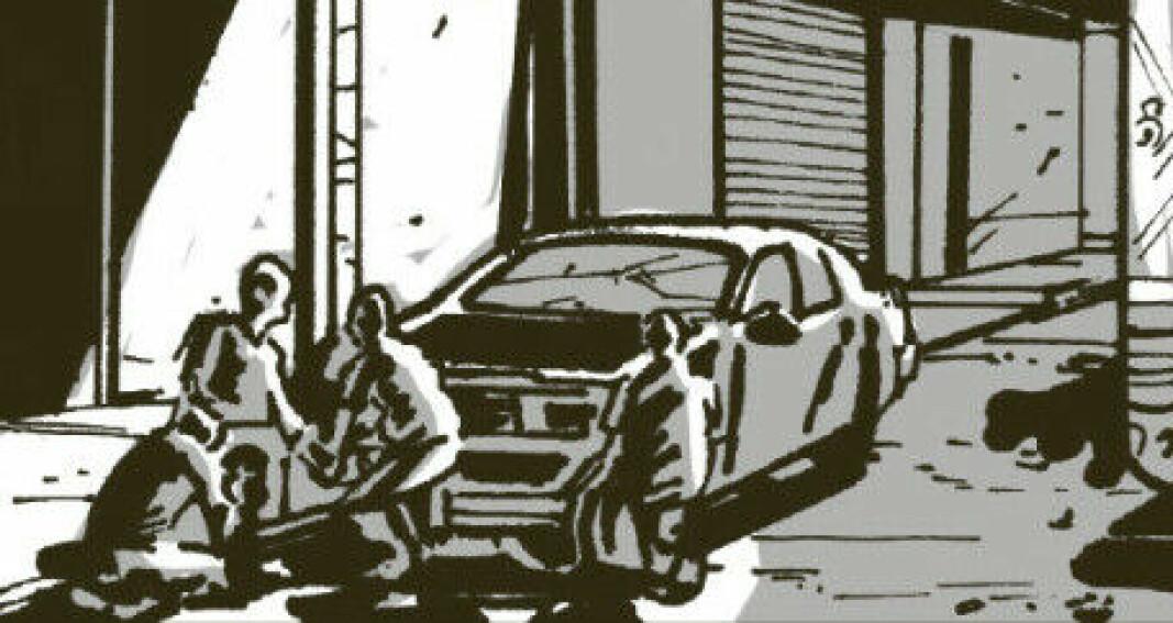 Soloff har laget historien i tegneserieformat for nå ut til flere.