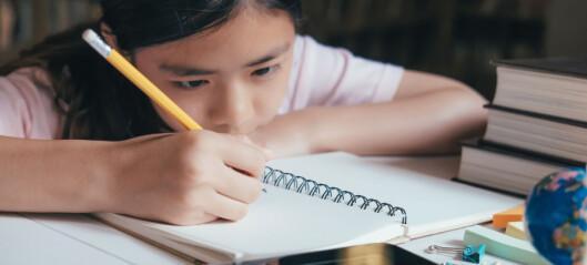 Det er på tide å få inn en klarere bestemmelse om lekser i opplæringsloven