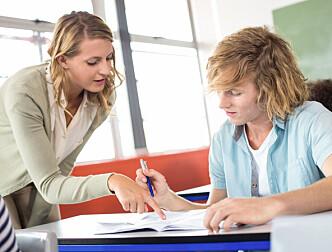Jeg opplever ikke at læreryrket har lav status