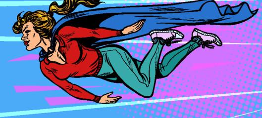Ulempen er at det fort kan bli en vane å være superhelt