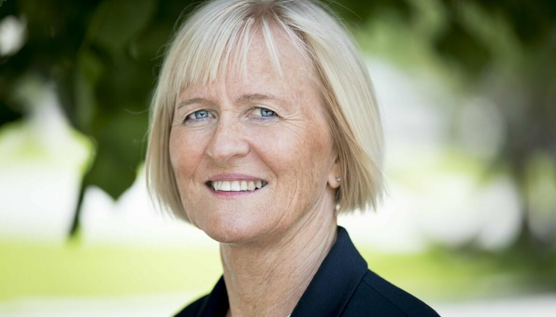 Unio-leder Ragnhild Lied kommer med krav til Arbeiderpartiet og Senterpartiet, som skal forhandle om å danne regjering.