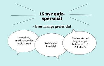 Uke 40: 15 nye quiz-spørsmål om språk og sånn