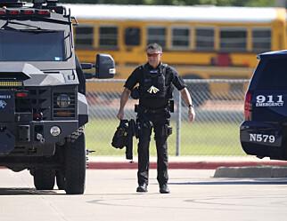 Fire såret i skoleskyting i Texas