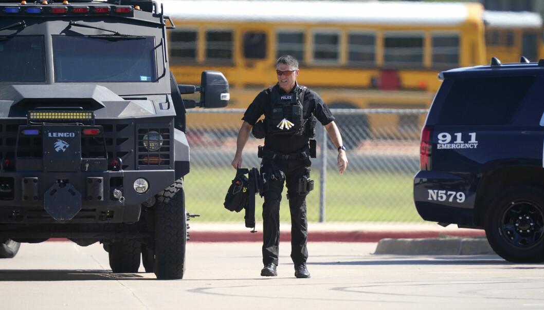 Fire personer ble såret i skoleskytingen på en videregående skole i Texas onsdag.
