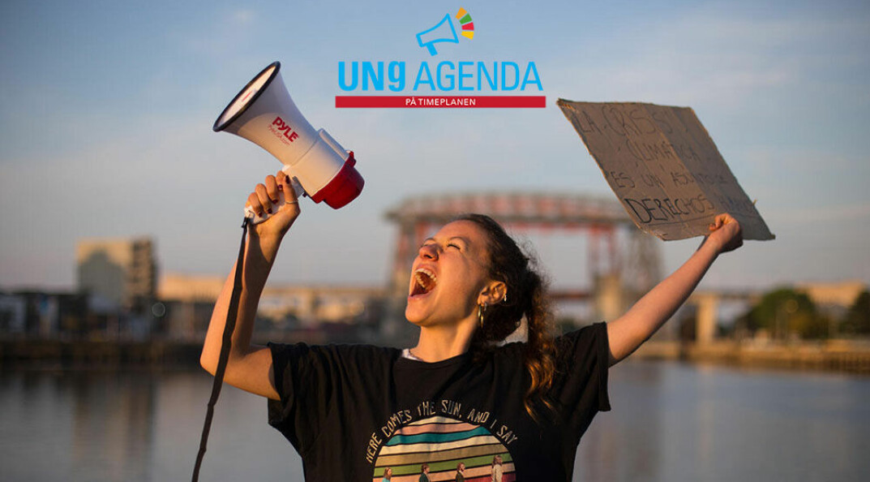 Undervisningsopplegg for ungdomsskolen om bærekraft, klimaendringer og barnerettigheter inkludert direktesendt, unik undervisningstime.