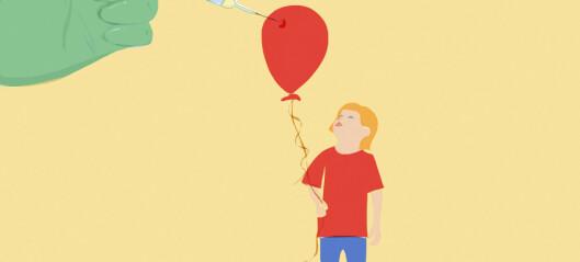 – Å være barn er ingen sykdom