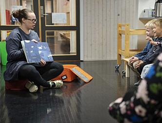 En koffert bedrer overgangen fra barnehage til skole