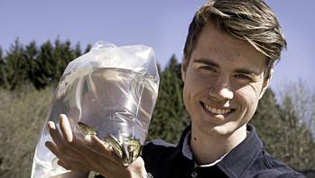 Torjus ble første lærling i akvakultur på Østlandet