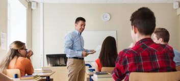 Arbeidsmarkedet er vanskelig for nyutdanna lektorer