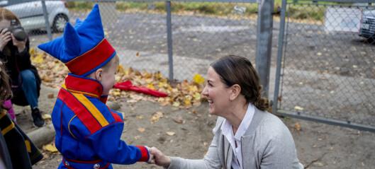 Brenna lover billigere barnehage i budsjettet